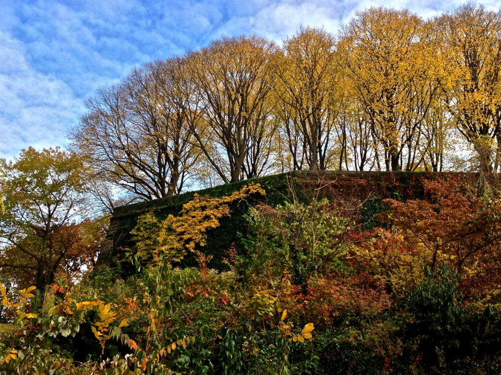 Fort Tyron Park near Washington Heights, Manhattan